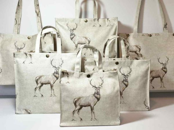 Standing Stags Plain Taupe Collection