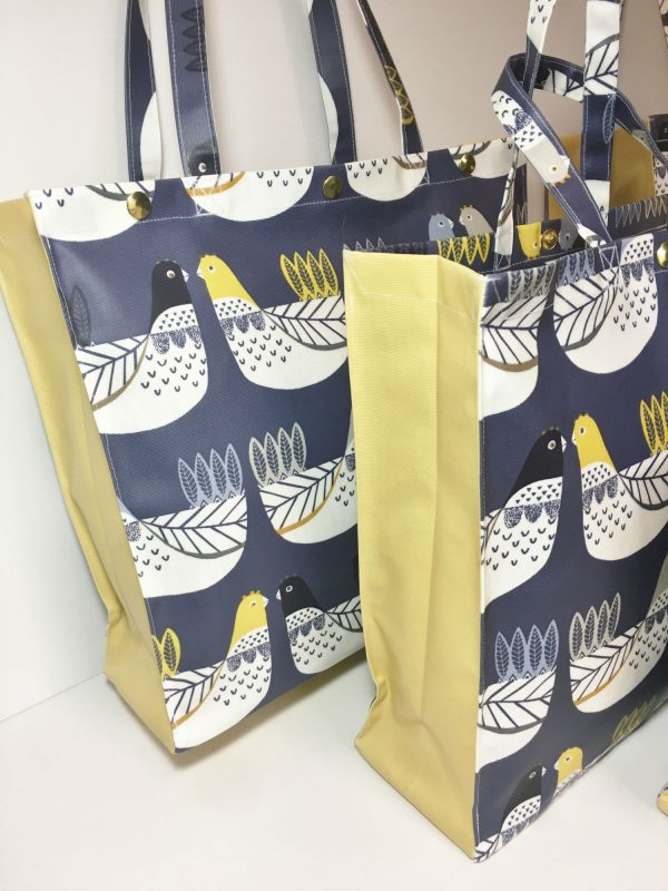 Cluck Cluck Chickens Navy Collection