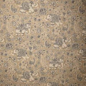 Indira Elephants Canvas and Taupe