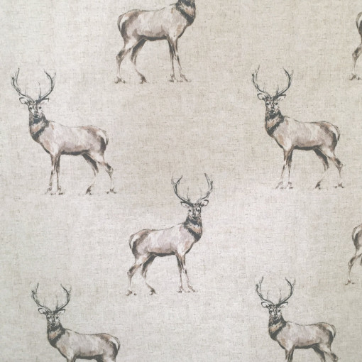 Standing Stags Plain Taupe