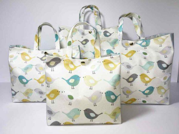 Scandi Birds Multi & Plain Duck Egg Collection