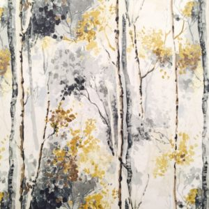 Silver Birch Shadow and Mustard
