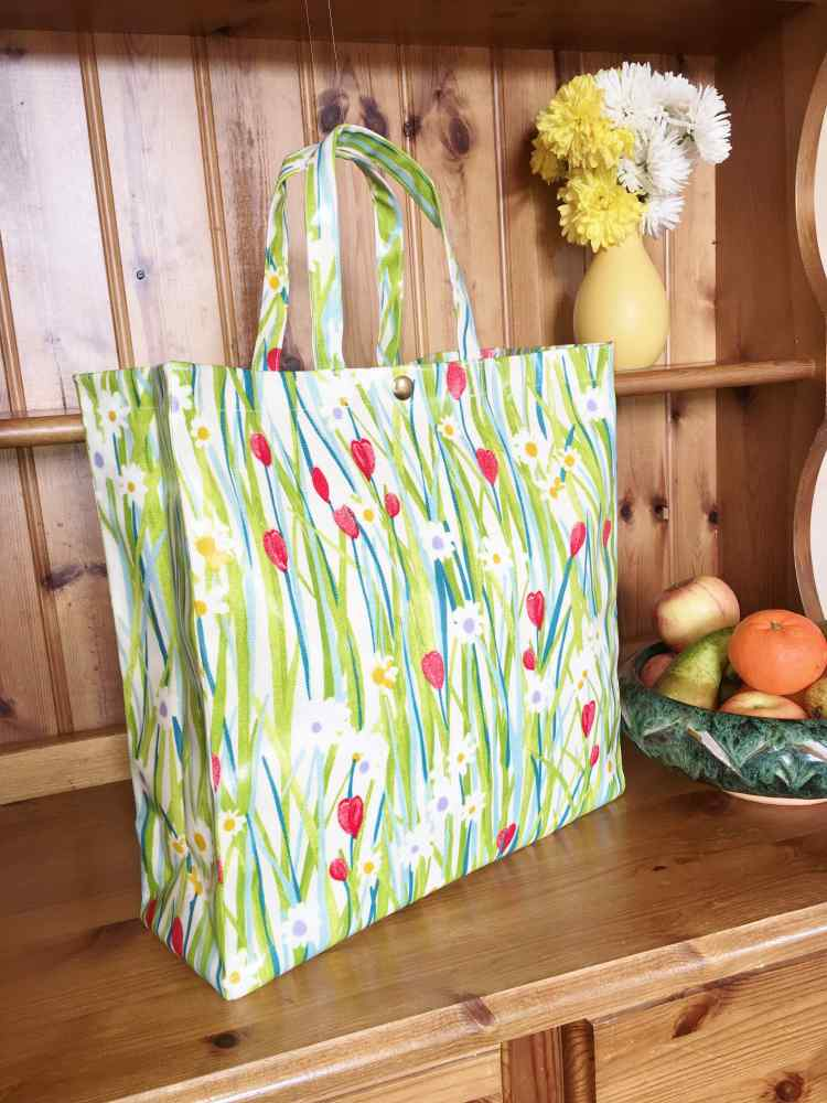 Large Hand Held Tote